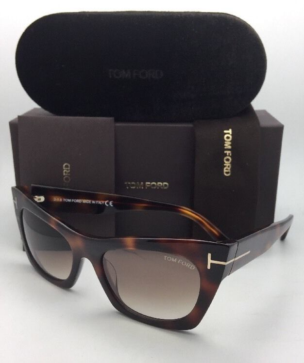 74efd8edaf1e9 New TOM FORD Sunglasses KASIA TF 459 56F 55-19 Tortoise Gradient w  Brown