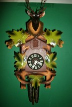 SCHMECKENBECHER Elk & Maple Leaves Cuckoo Clock - $127.71