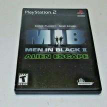 Men in Black II: Alien Escape (Sony PlayStation 2, 2002) - $7.85