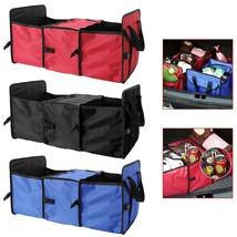 Car Bag Auto Organizer Folding Storage Box Trunk Mesh Oxford Truck Tidy ... - $38.55 CAD