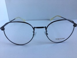751c9d3e5b3 Neuf Tom Ford Tf 5328 TF5328 012 51mm Rond Lunettes Cadre Italie -  224.20