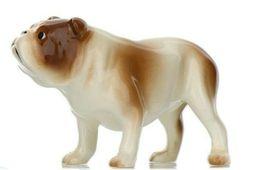 Hagen Renaker Miniature Dog Bulldog Brown and White Ceramic Figurine image 5