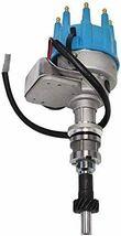 Ford SB R2R Distributor 351W 8.0mm Spark Plug Wires 50K Volt Coil image 3