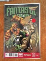 Fantastic Four Clobberin' Time! #10 Marvel Now Comics Near Mint Comic Book - $1.89