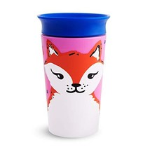 Munchkin Miracle 360 WildLove Sippy Cup, 9 Ounce, Red Fox - $7.05