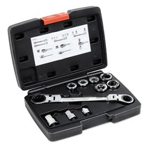 Sleeve Ratchet Wrench Set Auto Repair Tools Kit - $31.98