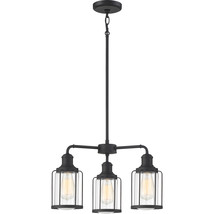 Ludlow 3-Light Chandelier in Earth Black - $229.99