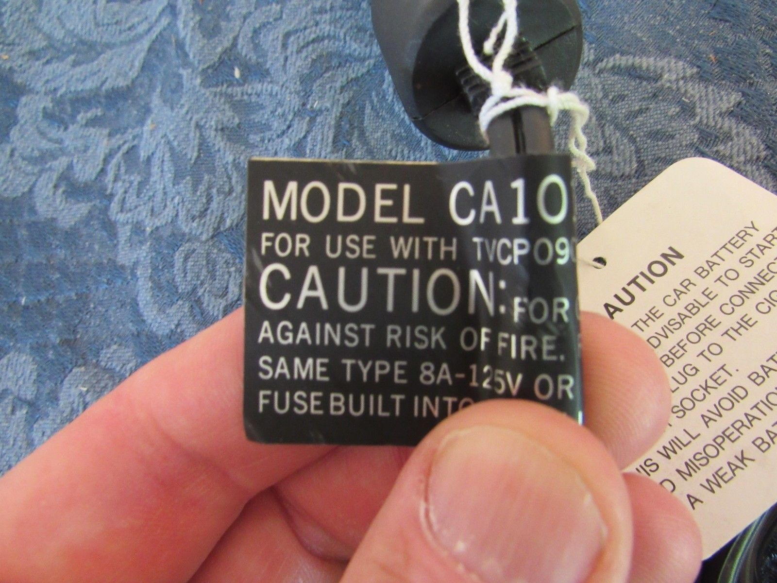 OEM Orion Auto Power Cord For TVCP0900   Model CA101