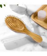 Natural Bamboo Hair Brush | Eco Friendly Zero Waste Detangling Brush - £12.94 GBP
