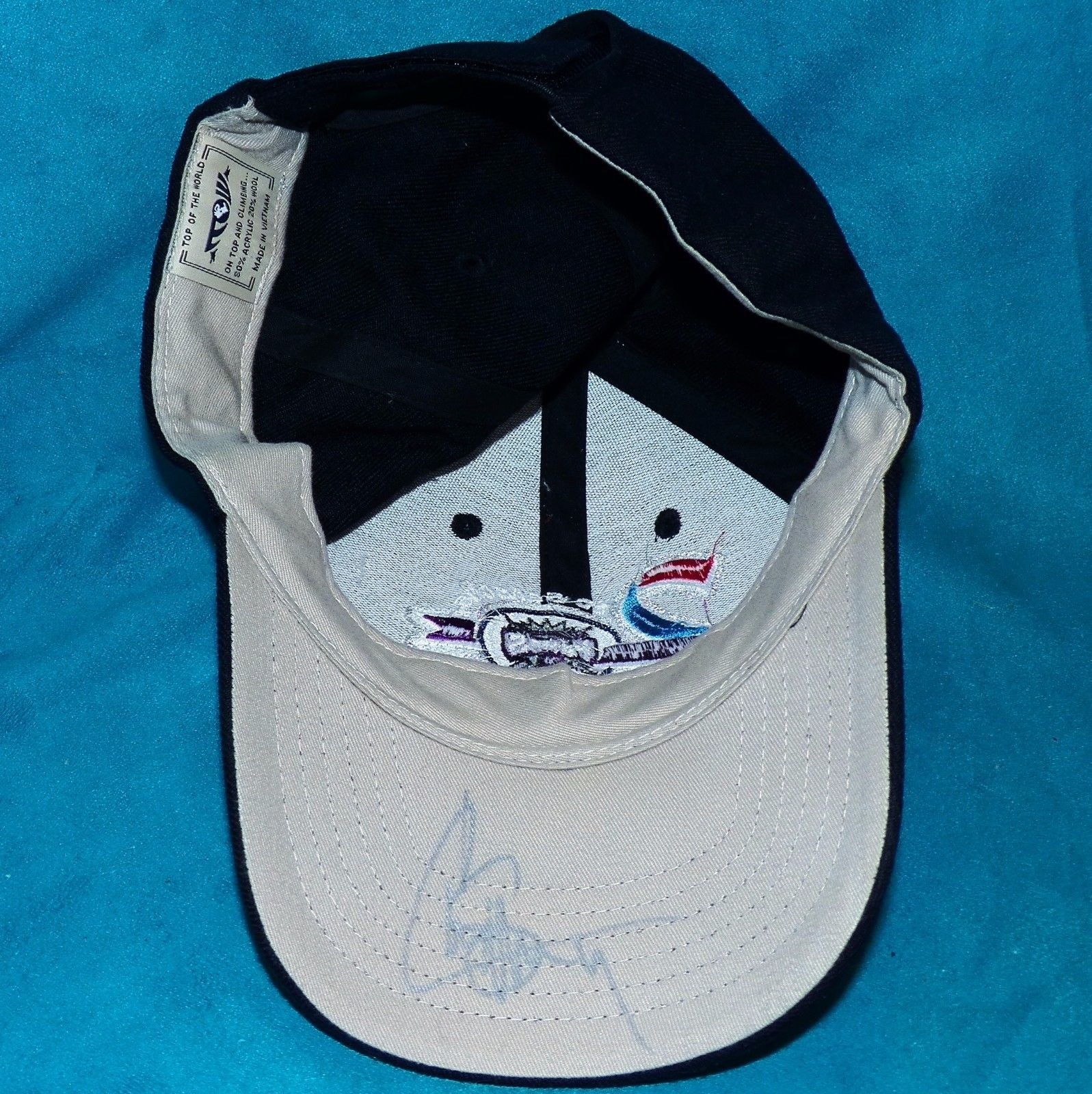 Autographed Chris Webber Basketball Sacramento Kings 20th Season Baseball Cap