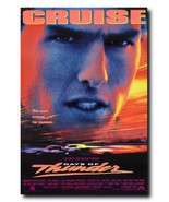 "Days Of Thunder Movie Poster 24x36"" - Frame Ready - USA Shipped - $17.09"