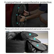 Farmogo Tesla Model 3 Aero Wheel Cover Storage Bag Water-Proof Wheel Cap Organiz image 4