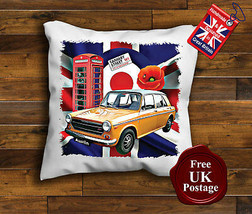 Austin 1300 GT Cushion Cover, Austin 1300, Union Jack, Mod, Target, Cushion - $9.01+
