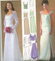 McCalls 4298, Size 8-14 Evening Elegance Wedding Bridesmaides dress.UNCUT - $5.50