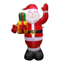 150cm Giant Inflatables Santa Claus Christmas Airblown Inflatable Outdoo... - $63.99+