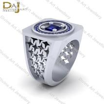 Star Wars Robot Droid Inspired Wedding Band For Men's Diamond Anniversar... - £181.37 GBP+