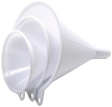 Nopro Plastic Funnel, Set of 3 - $3.73