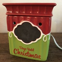 Scentsy Tis The Season Days Until Christmas Countdown Present Electric W... - $39.59
