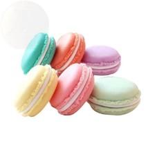 Yueton Pack Of 6 Colorful Mini Macaron Shape Storage Box Candy Jewelry New - $28.85 CAD