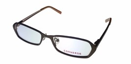 Converse Womens Ophthalmic Soft Rectangle Metal Frame Cookie / Brown - $26.99