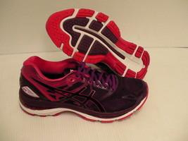 Women's asics running shoes gel nimbus 19 black cosmo pink winter bloom ... - $108.85