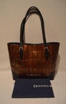 Dooney & Bourke Covington Embossed Croc Leather Cognac Rachel Tote Bag NWT - $3.785,41 MXN