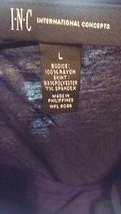 Black international concepts dress size large ras162 - $14.84