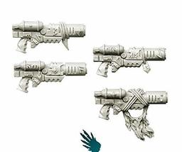 Spellcrow Conversion bits Wolves Space Knights Melting Guns