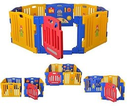 Baby Playpen Kids 8 Panel Safety Play Center Ya... - $120.99