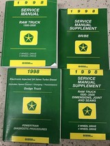 1998 Dodge Ram Truck 1500 2500 3500 Service Shop Workshop Repair Manual ... - $296.99