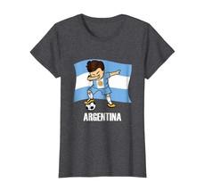Sport Shirts - Dabbing Soccer Boy argentina Jersey Tee - argentina Football Wowe - $19.95+