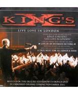 KINGS POSTER LIVE LOVE IN LONDON PRINTED ON VINYL(V8) - £8.64 GBP