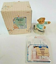 Cherished Teddies Shannon A Figure 8 Our Friendship Is Great 1998 Enesco... - $12.82