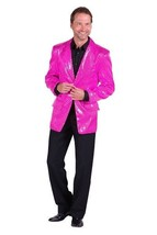 Gents 2017 style Sequinned Cabaret Jackets - Pink - $73.01
