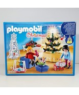 Playmobil 9495 Christmas Living Room Tree Lights Up From Germany  New Se... - $36.99