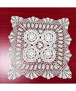 vanyear Handmade Crochet Cotton Lace Table Sofa Doily Tablecloths Square... - $16.07