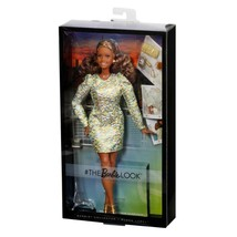 The Barbie Look Doll Nighttime Glamour Barbie Curvy Articulated African ... - $39.08