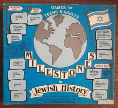 Milestones In Jewish History Board Game For Teens And Adults - Rare 1985 - $36.99