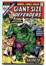 Giant-Size Defenders #1 1974-Silver Surfer - Dr Strange- Sub-Mariner - $37.83