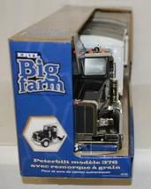 ERTL Tomy TBEK46184 Big Farm Peterbilt Model 367 With Grain Box image 2