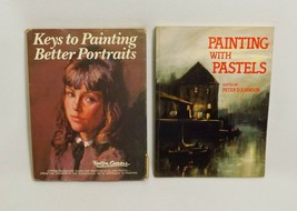 2 Painting Books-Painting With Pastels SC & Keys To Painting Better Port... - $11.16