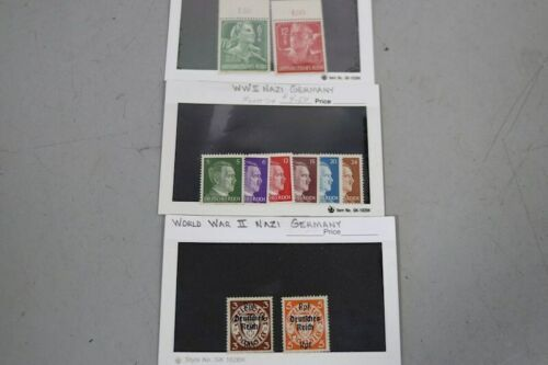Mint Never Hinged MNH Vintage German Germany DDR Colonies WWII States Occupation