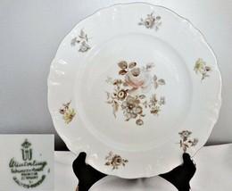 Winterling Empress Platinum Dinner Plate - $19.79