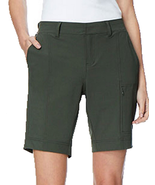 32 Degrees Cool Weatherproof Olive Cargo Shorts, Size XS - $13.85