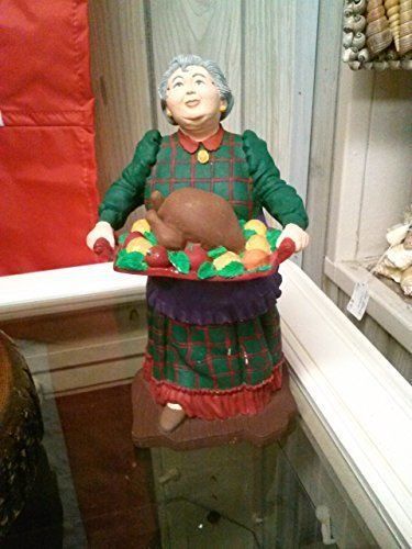 "Primary image for DEPT 56 / ALL THROUGH THE HOUSE / ""AUNT MARTHA WITH TURKEY"""