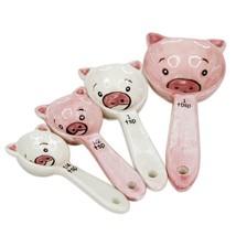PIGS MEASURING SPOON SET - £7.41 GBP