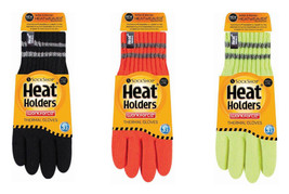 Heat Holders - Mens Thick Thermal Insulated Reflective Hi Vis Winter Wor... - $19.99