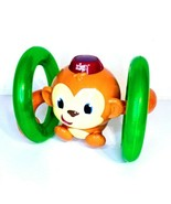 Bright Starts Roll & Glow Monkey Crawling Baby Toy with Lights Sounds fo... - $9.74