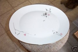Rosenthal 15 3/8 oval platter (Japanese Quince) 1 avail - $32.08