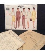 Vogue Sewing Pattern 1925 Jacket Dress Top Skirt Pants Easy 8 10 12 1980... - $12.30